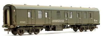 BR MK1 BG Full Brake Departmental Olive Green Coach ADB 975612 (Weathered Edition)