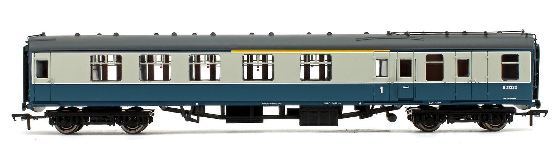 BR MK1 BCK Brake Composite Corridor Blue & Grey Coach No.E21222