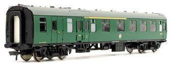 BR Mk1 BCK Brake Composite Corridor (SR) Green Passenger Coach S21275