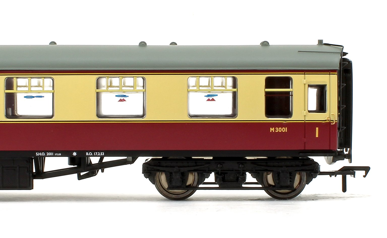 BR Mk1 FO First Open Crimson & Cream Passenger Coach No.M3001