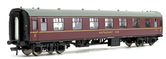 BR MK1 RFO Restaurant First Open Maroon Passenger Coach No.M1