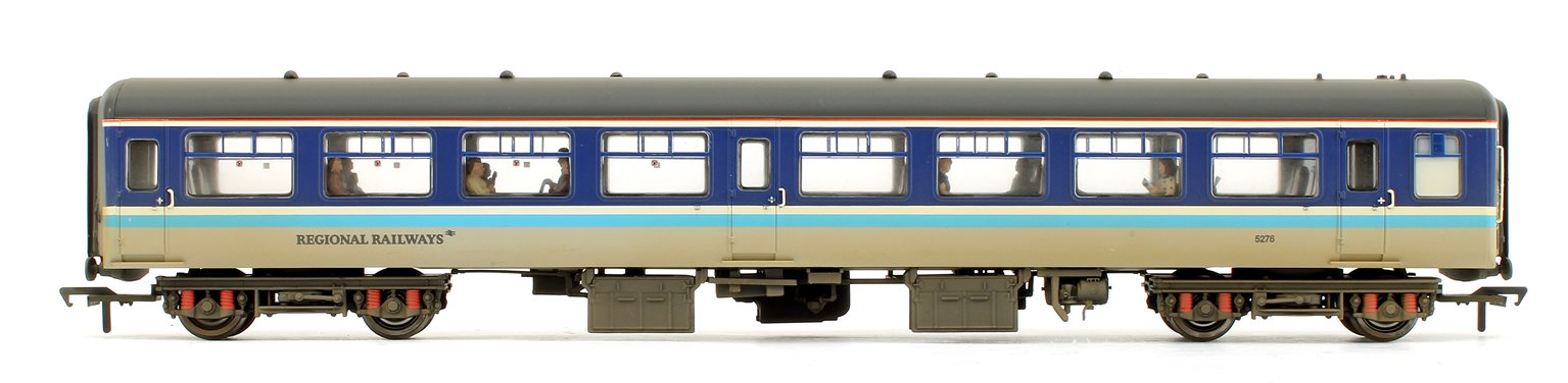 BR MK2A TSO Tourist Second Open Regional Railways Weathered Coach (with fitted Passengers)