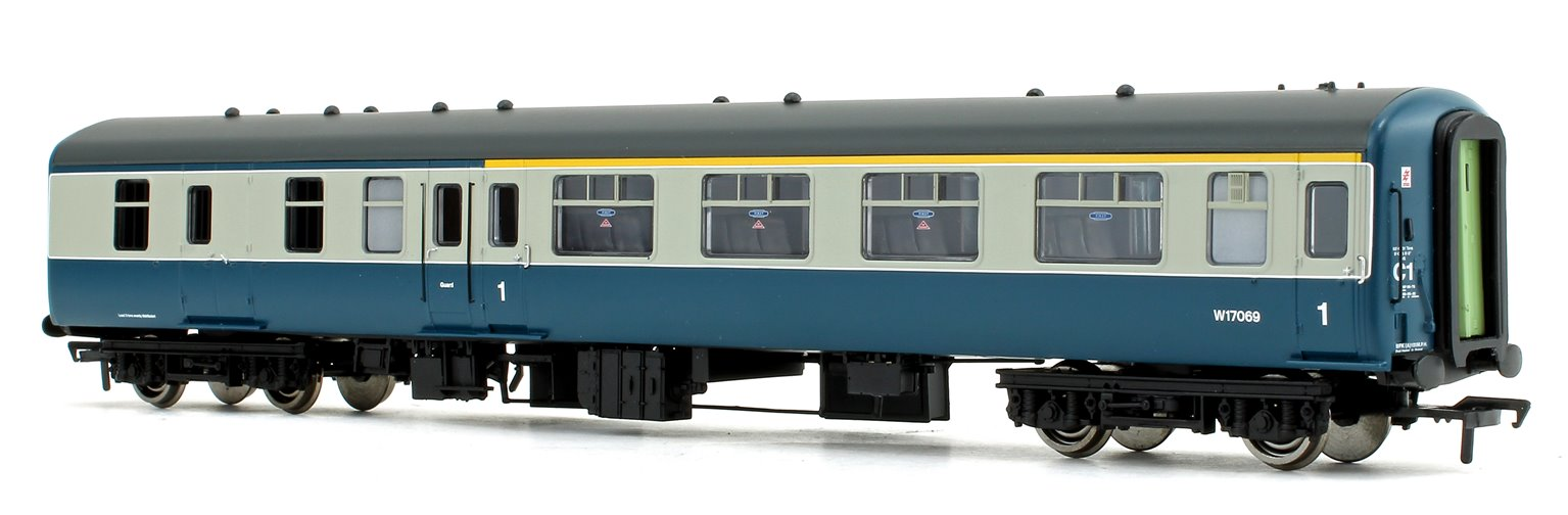 BR MK2A BFK Brake First Corridor Blue & Grey Passenger Coach No.W17069
