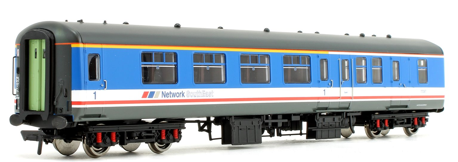 BR Mk2A BFK Brake First Corridor Network SouthEast Passenger Coach 17097