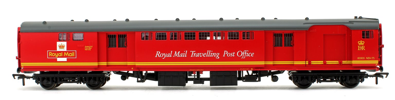 BR Mk1 POS Post Office Sorting Van Royal Mail Travelling Post Office