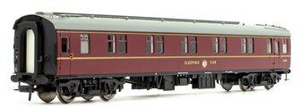 BR Mk1 SLSTP Sleeper Car Second  Class BR Maroon Passenger Coach E2591
