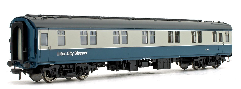BR Mk1 SLSTP Sleeper Car Second Class Blue & Grey 'Inter-City' Passenger Coach No.E2681