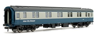 BR Mk1 SLSTP Sleeper Car Second Class Blue & Grey 'Inter-City' Passenger Coach No.E2681