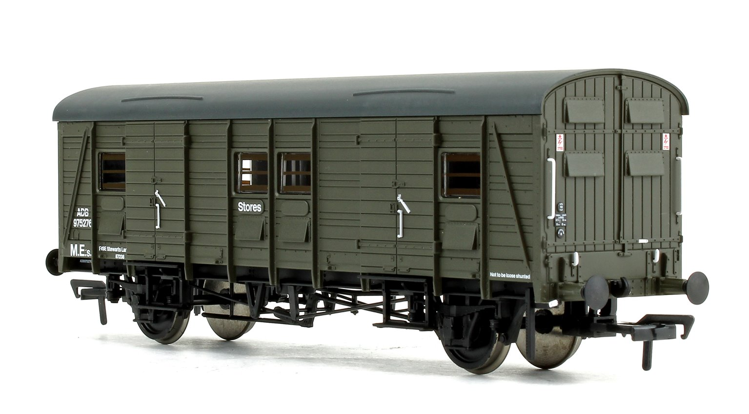 Ex-Southern CCT Covered Carriage Truck BR Departmental Green