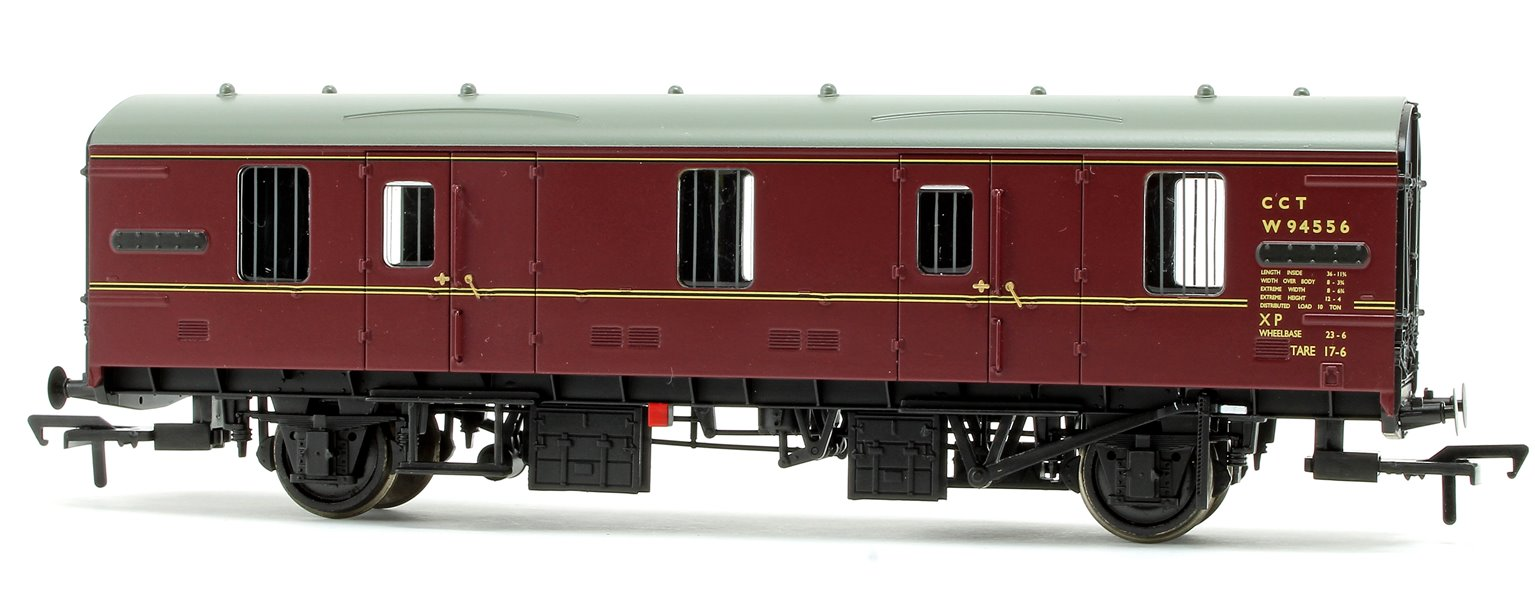 BR Mk 1 CCT Covered Carriage Truck BR Maroon