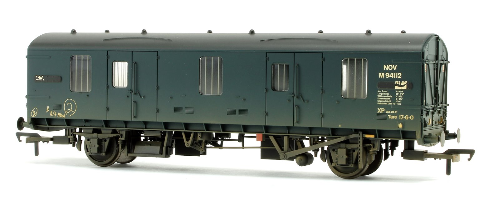 BR MK1 NOV (ex-CCT) Covered Carriage Truck BR Blue Weathered