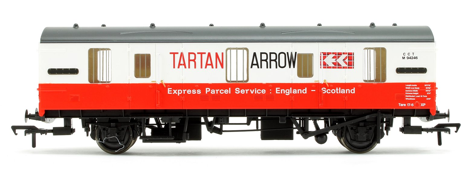 BR Mk 1 CCT Covered Carriage Truck Tartan Arrow