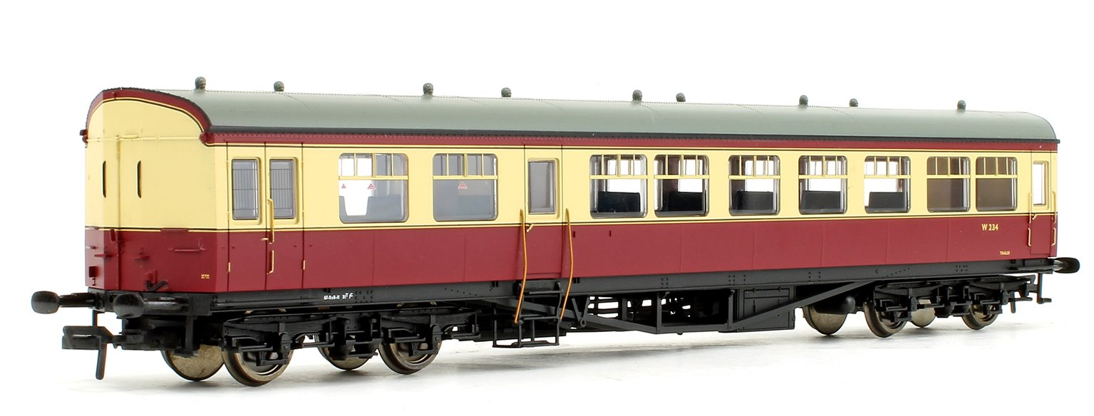 BR Auto Trailer Crimson & Cream Coach No.W234