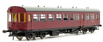 BR Auto Trailer Unlined Maroon Coach No.W236W