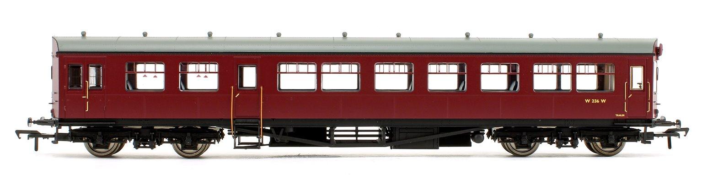 BR Auto Trailer Unlined Maroon Coach No.W236W