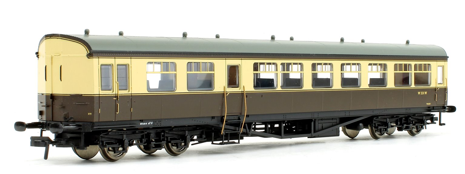 BR Auto Trailer BR Chocolate / Cream (Preserved) No.W231W