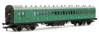 SE&CR 60ft Birdcage Brake Third SR Malachite Green