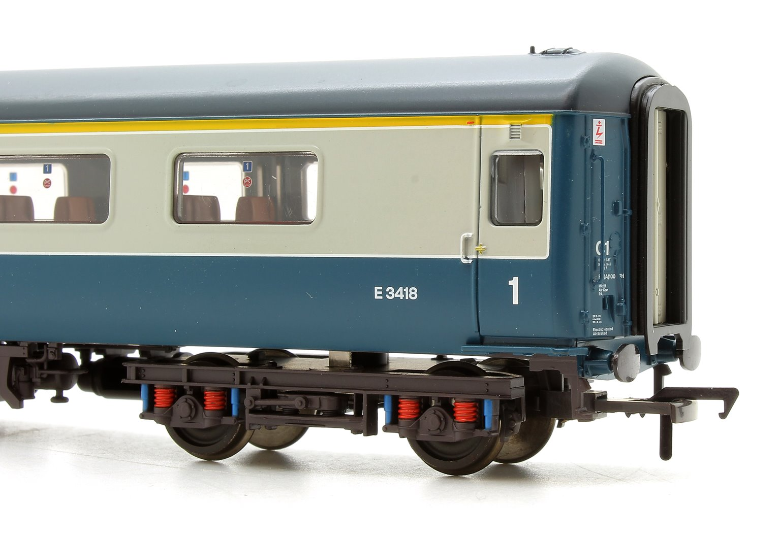 BR MK2F FO First Open Blue & Grey DCC