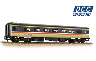 BR Mk2F FO First Open BR InterCity (Swallow) - DCC Fitted
