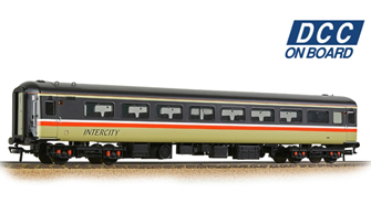BR Mk2F TSO Tourist Second Open BR InterCity (Swallow) - DCC Fitted