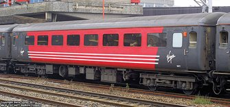 BR Mk2F TSO Tourist Second Open Virgin Trains (Original) - DCC