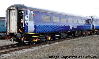 BR Mk2F TSO Tourist Second Open ScotRail Saltire
