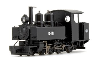 Baldwin Class 10-12-D WDLR Black livery Locomotive No.542