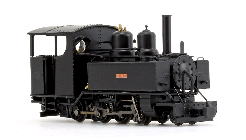 Baldwin Class 10-12-D 'Bridget' in Ashover Light Railway Black livery