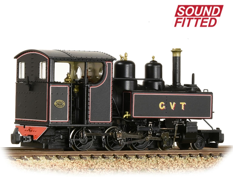 Baldwin 10-12-D Tank Glyn Valley Tramway Lined Black