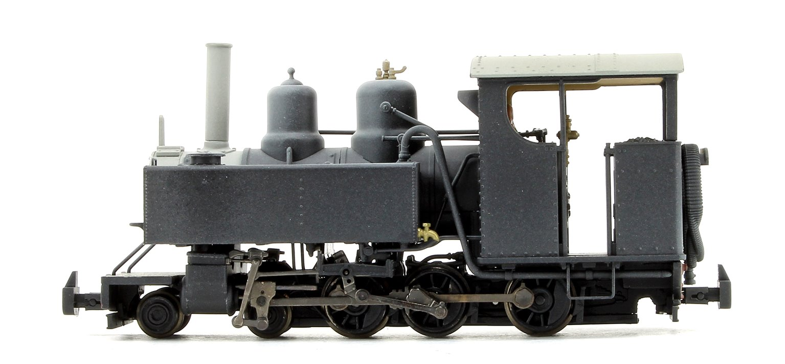 Baldwin 10-12-D Tank No. 4 Snailbeach District Railways Black (Weathered)