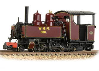 Baldwin 10-12-D Tank 590 Welsh Highland Railway Lined Maroon