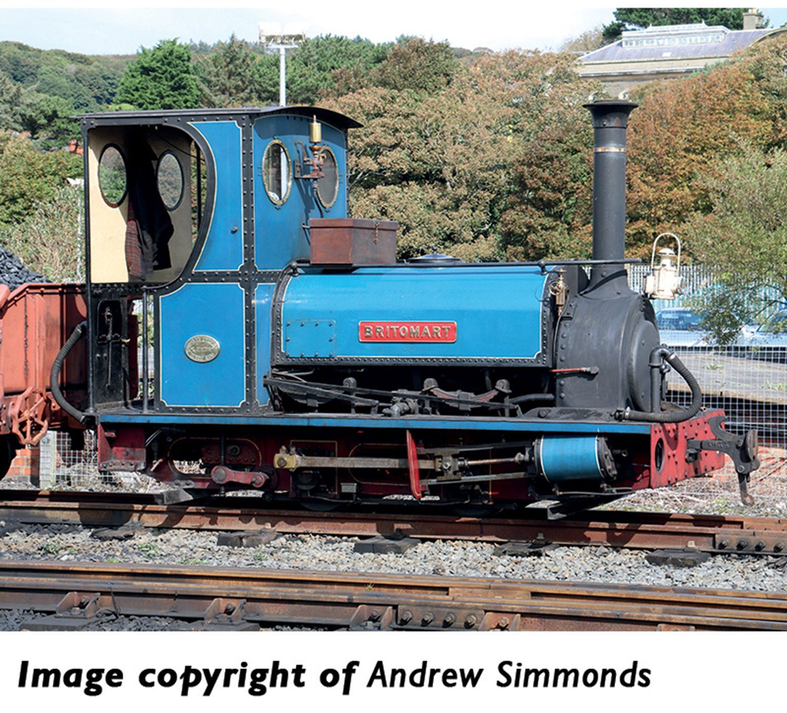 Quarry Hunslet 0-4-0 'Britomart' in Pen-yr-Orsedd Quarry Blue livery(Price is estimated - we will notify you if price rises and offer option to cancel)
