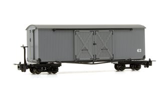Covered Goods Wagon Nocton Light Grey