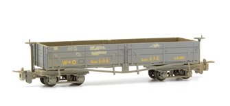 D Class Open Bogie Wagon WW1 WD Grey Weathered