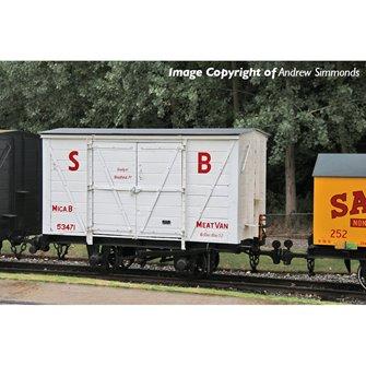 RNAD Van Statfold Barn Railway White 'MICA B'
