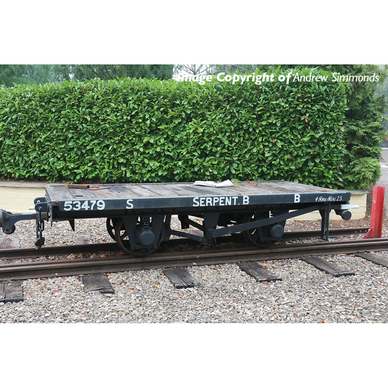 RNAD Flat Wagon Statfold Barn Railway Grey 'Serpent B'