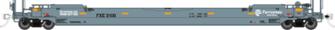 HO Gunderson 53' Husky-Stack well car - Ferromex: #5226