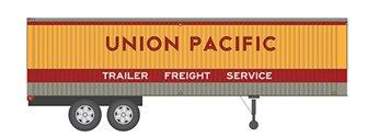 HO 35' Fruehauf Integral-Post Volume Van - Union Pacific - Trailer #1