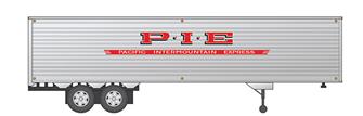 HO 40' Fruehauf Fluted Side Volume Van - Pacific Intermountain Express - Trailer #1