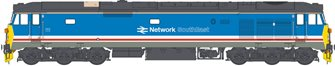 Class 50 Revised Network SouthEast (Light Blue) Diesel Locomotive