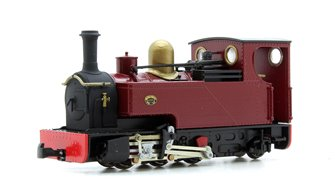 Fourdees Limited OO9 Scale 41-132 Leeds No.1 Maroon Freelance 0-6-2T Locomotive