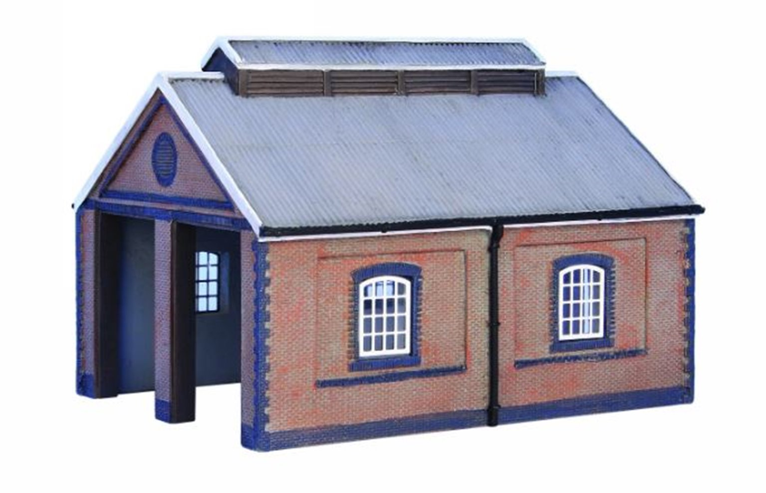 Two Road Brick Engine Shed