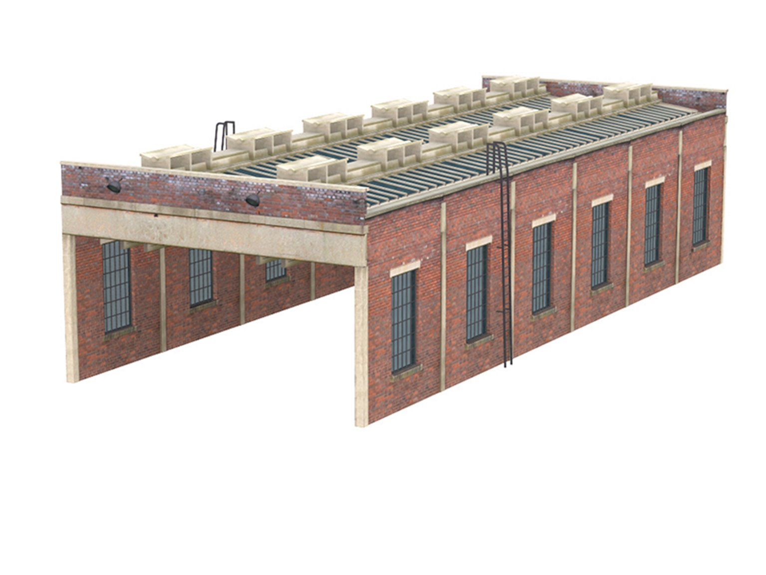 Two Lane Engine Shed