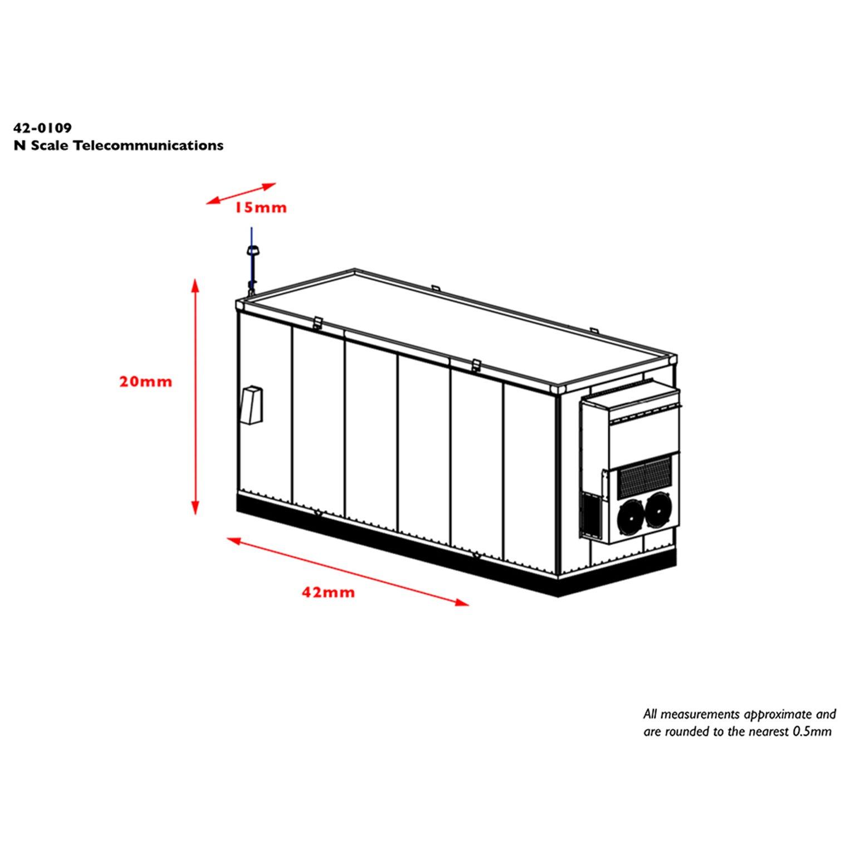 Telecommunications Cabin