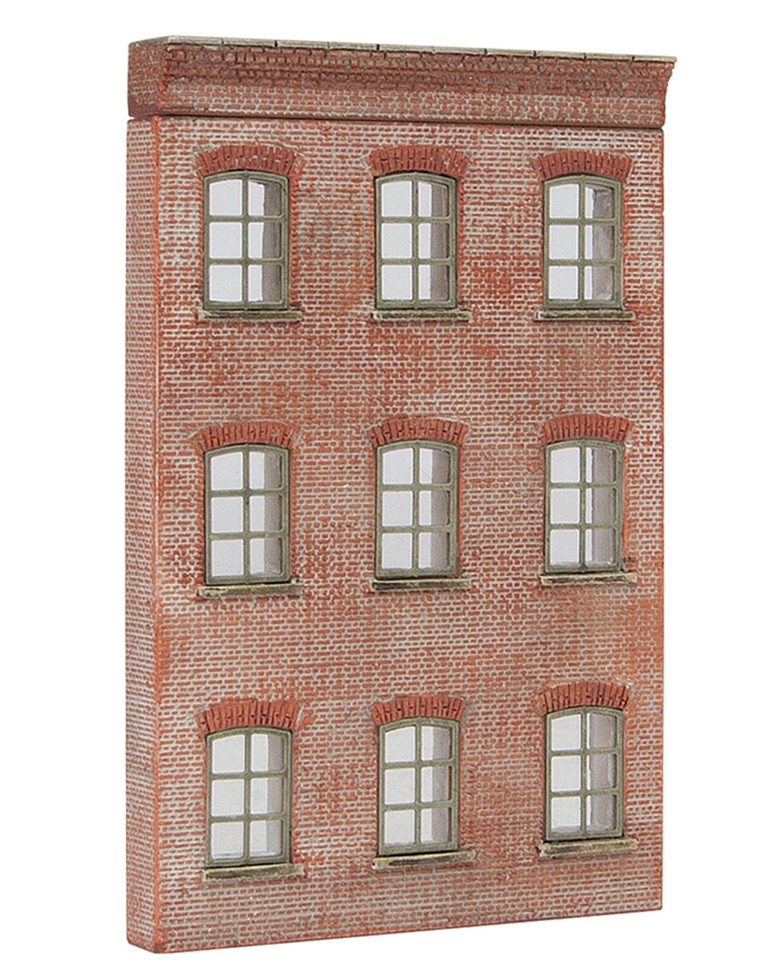 Low Relief Modular Mill Façade