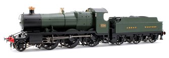 Class 43xx Mogul 2-6-0 4326 in GWR green with Great Western lettering