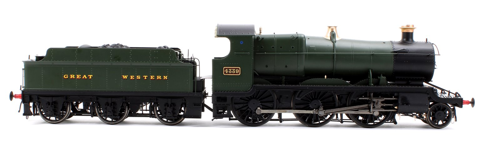 Class 43xx Mogul 2-6-0 4339 in GWR green with Great Western lettering