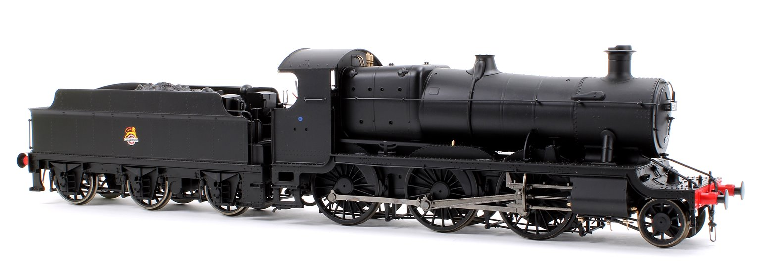 Class 43xx Mogul 2-6-0 in BR black with early crest