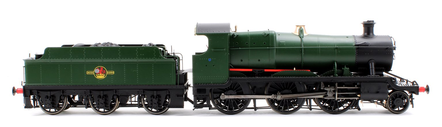 Class 43xx Mogul 2-6-0 in BR unlined green with late crest