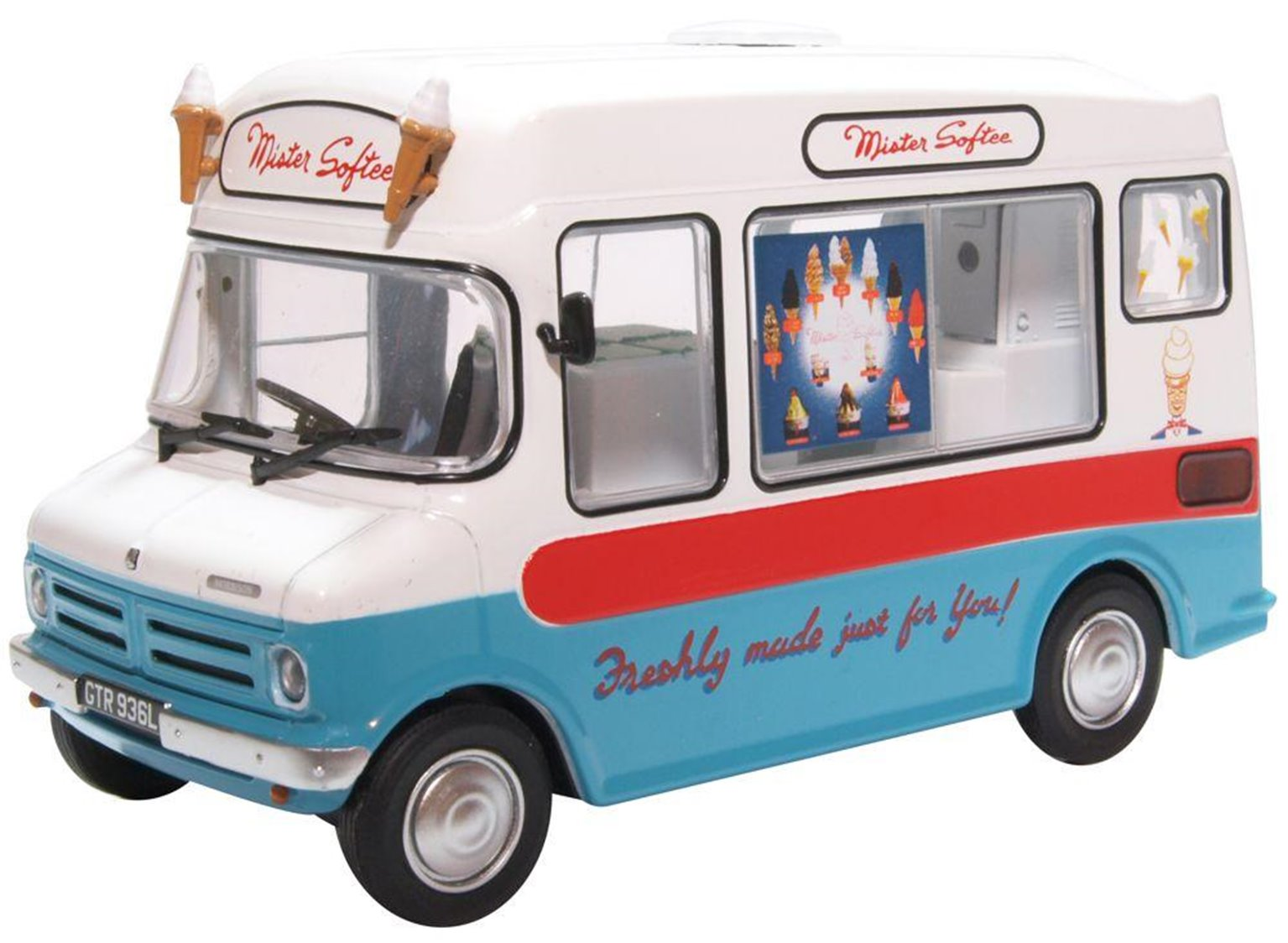 Bedford CF Ice Cream Van Morrison Mr Softee